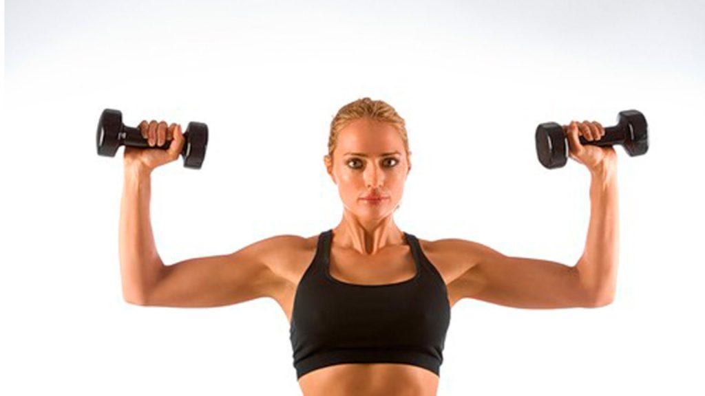 красивые плечи упражнения для девушек