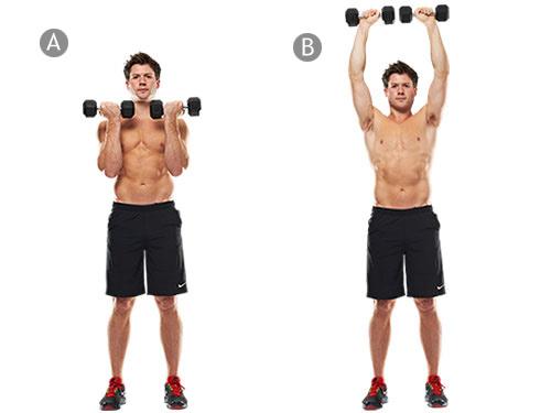 средняя дельта базовые упражнения