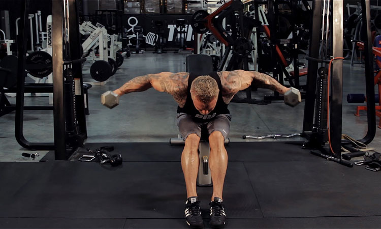 упражнения на плечи в зале для мужчин