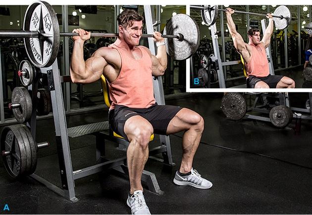 средняя дельта упражнения в зале