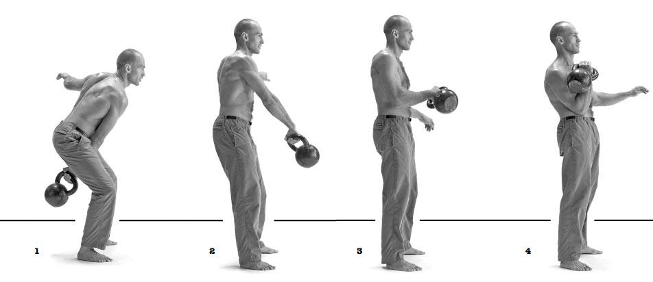 Как накачать руки с помощью гири