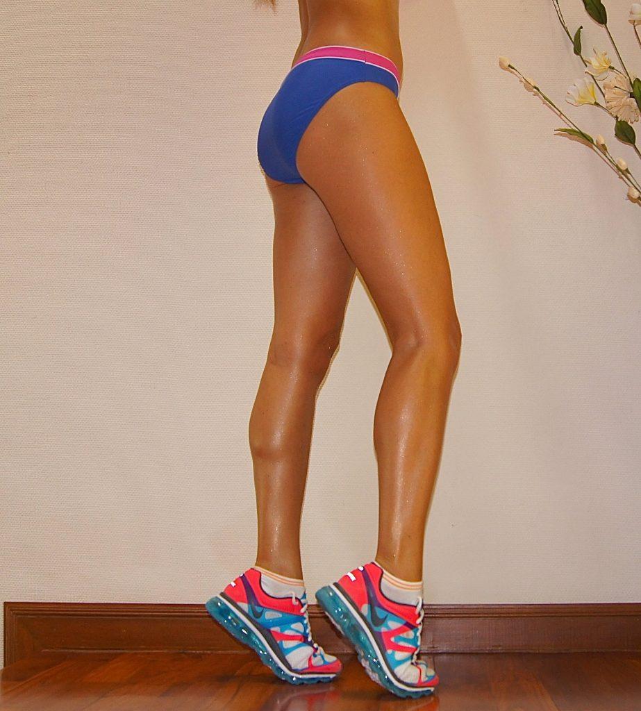 упражнения чтобы накачать ноги девушке