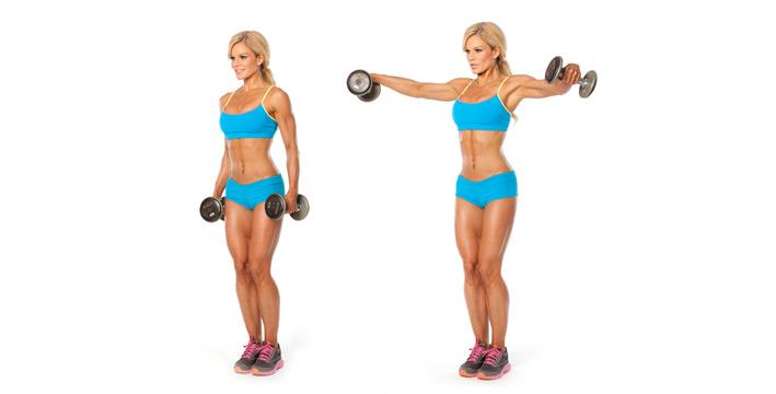 как накачать мышцы груди девушке