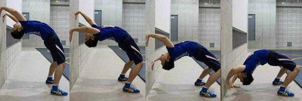 Упражнение мостик