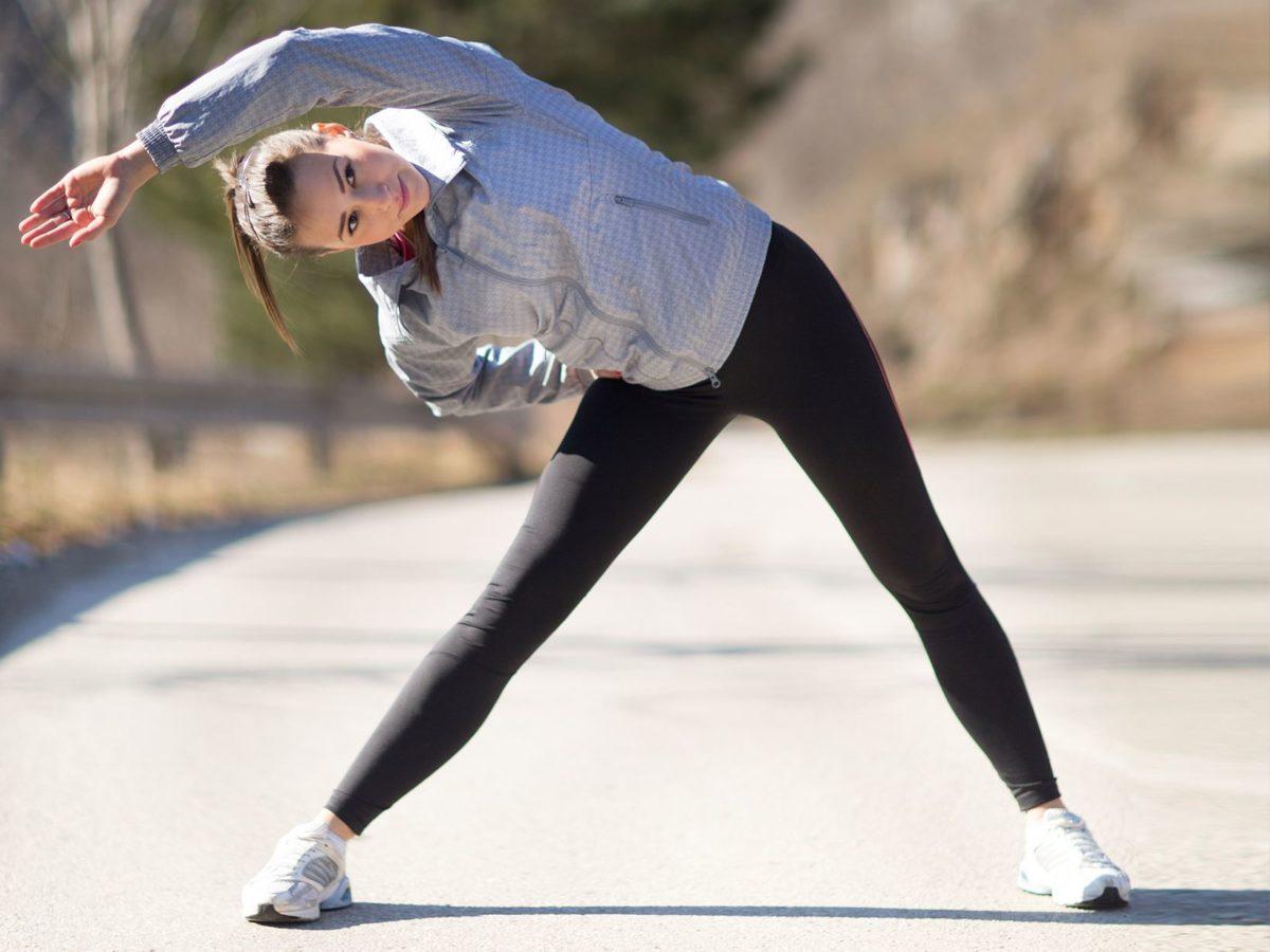 Упражнение наклоны