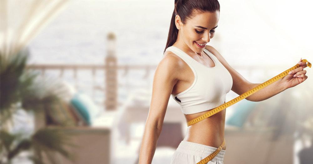 Как похудеть за день