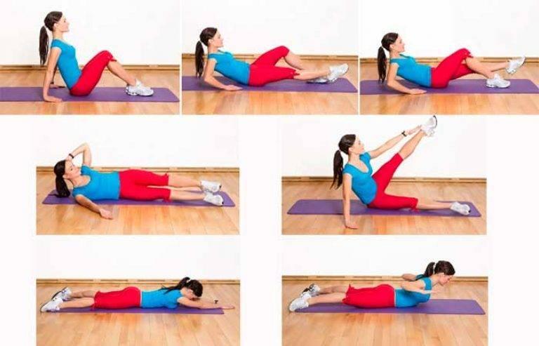 Упражнения для плоского живота и тонкой талии в домашних условиях