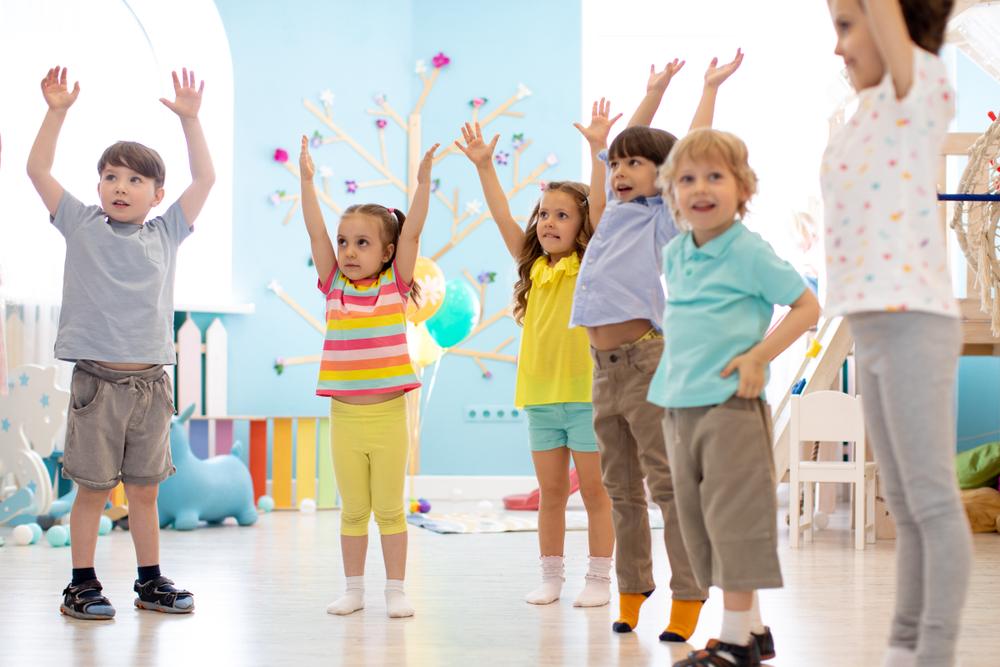 Комплекс физических упражнений для дошкольников и детей до года