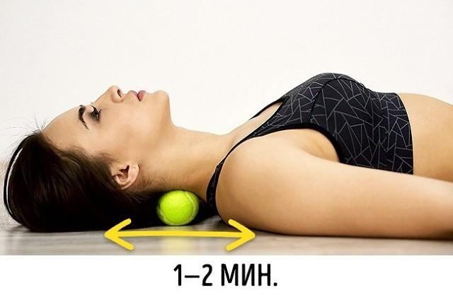 Упражнения с теннисным мячом: 7 эффективных вариантов