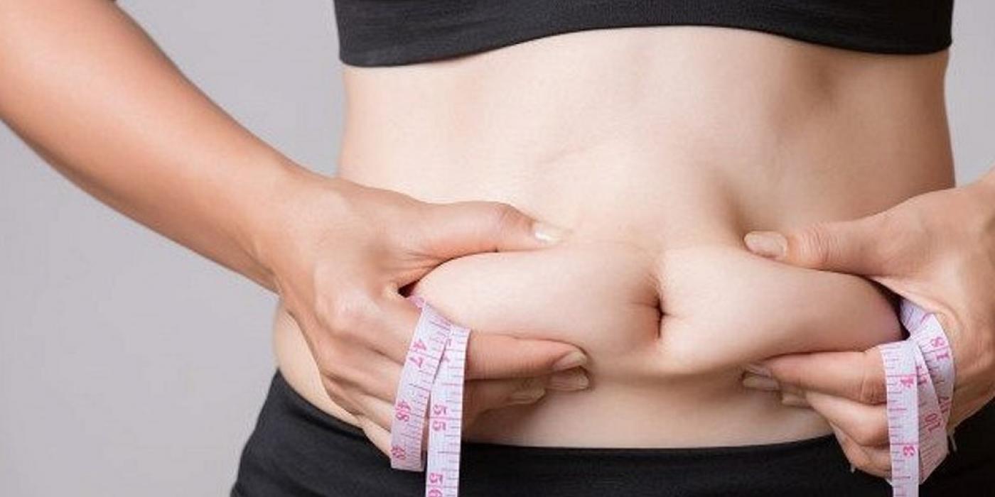 как убрать жир с живота