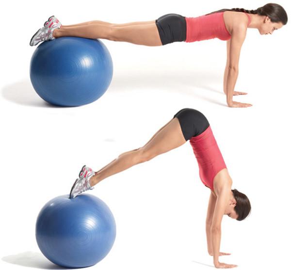 Упражнения с мячом: гимнастика на фитболе