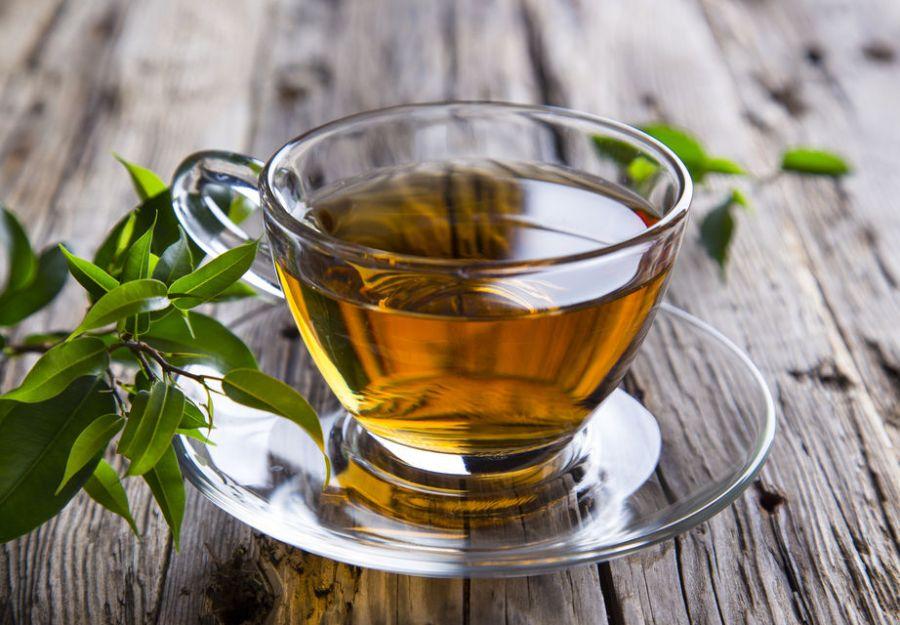 зеленый чай для похудения живота