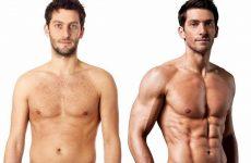 Как накачать пресс худому человеку: эффективная программа набора мышечной массы