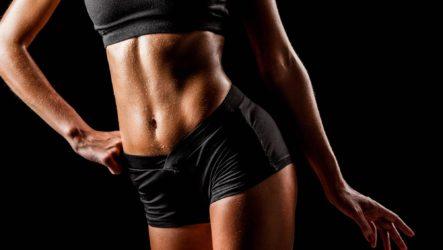 Как девушке накачать пресс за месяц: 8 лучших упражнений