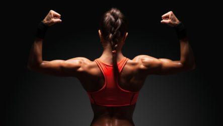 Как девушке накачать руки и спину: мощные упражнения для дома