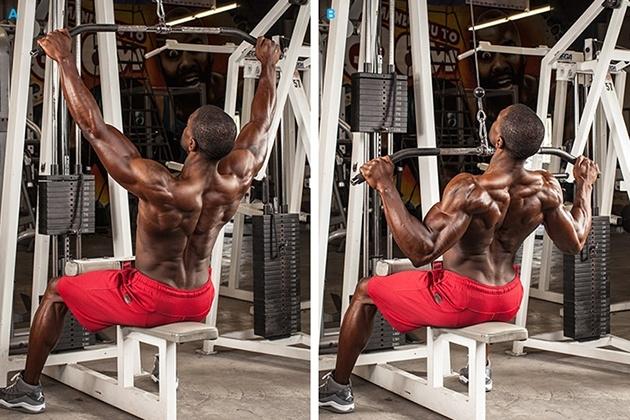 как накачать спину и плечи