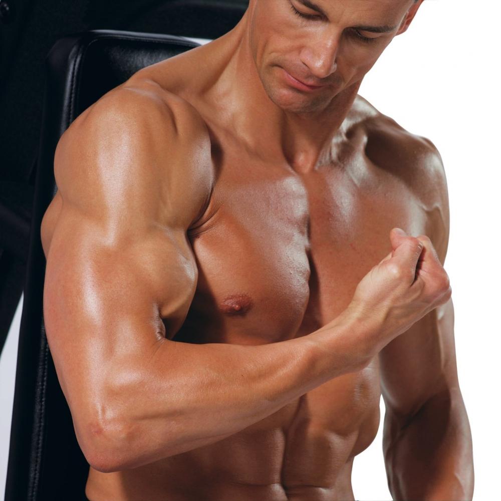 Как накачать руки дома лучшие упражнения и программа тренировок