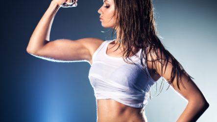 Как девушке накачать внутреннюю часть руки: лучшие упражнения