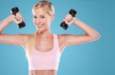 Как быстро накачать руки девушке: топовые упражнения