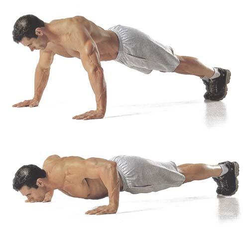 верх грудных мышц упражнения в домашних условиях
